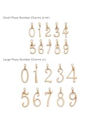 Lulu Frost - Multicolor Plaza Number Charm #7 Small - Lyst
