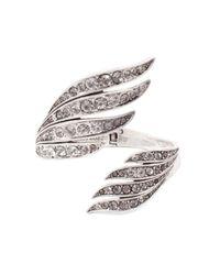 Lulu Frost - Metallic Double Wing Cuff - Lyst