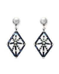 Lulu Frost | Metallic Midnight Proxima Earring | Lyst