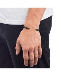 Lulu Frost | Black Fortitude Cuff for Men | Lyst
