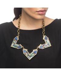 Lulu Frost | Metallic Petra Mosaic Statement Necklace | Lyst
