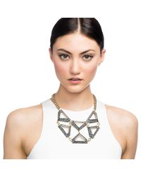 Lulu Frost | Metallic Veruschka Statement Necklace | Lyst