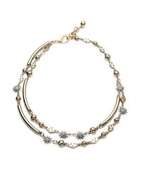Lulu Frost | Metallic Channel Necklace | Lyst