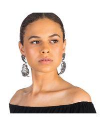 Lulu Frost | Multicolor Diamanda Statement Earring | Lyst