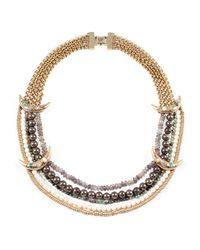 Lulu Frost | Metallic Andalusia Necklace | Lyst