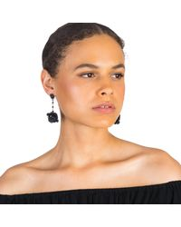 Lulu Frost - Multicolor Rose Earring - Lyst
