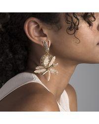 Lulu Frost - Multicolor Bora Flower Statement Earrings - Lyst