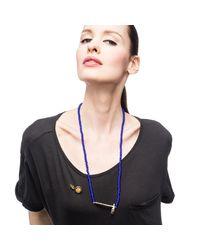 Lulu Frost | Blue George Frost G. Frost Tomahawk Beaded Necklace | Lyst