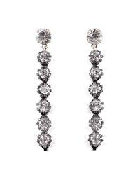 Lulu Frost - Multicolor Beam Drop Earrings - Clear - Lyst