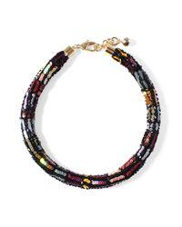 Lulu Frost - Multicolor Josephine Sequin Collar - Lyst