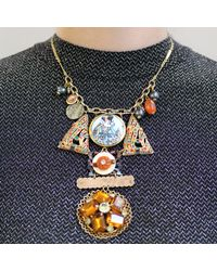 Lulu Frost - Metallic *vintage* 100 Year Necklace - Lyst