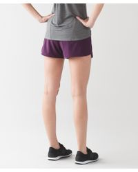 lululemon athletica - Multicolor Run Times Short - Lyst