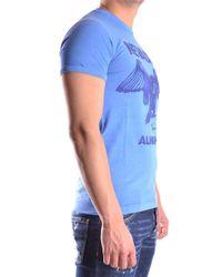 DSquared² - Blue DSQUARED2 T-shirt for Men - Lyst
