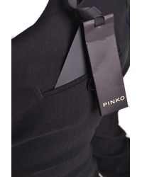 Pinko - Black PINKO Trousers - Lyst