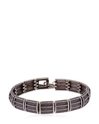 MARCO DAL MASO - Black Italia Bracelet for Men - Lyst