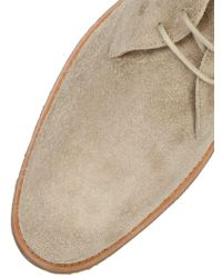Tod's - Leather & Natural Rubber Chukka Boots for Men - Lyst