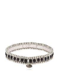 Philippe Audibert - Metallic Wappo Bracelet for Men - Lyst