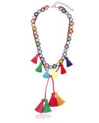 Shourouk - Multicolor Sautoir Necklace - Lyst