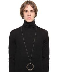 Henson - Metallic Linked Bangles Necklace for Men - Lyst