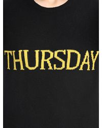 Alberta Ferretti - Black Thursday Slim Wool & Cashmere Sweater - Lyst