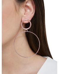 Maria Francesca Pepe   Pink Hoops I Did It Again Earrings   Lyst