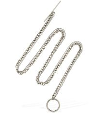 Ann Demeulemeester - Metallic Metal Chain Necklace - Lyst