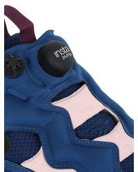 Reebok - Blue Instapump Fury Nylon Sneakers - Lyst