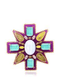 Erickson Beamon - Multicolor Girls On Film Pin - Lyst