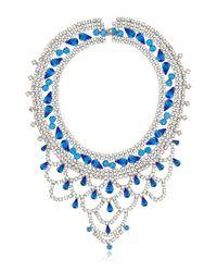 Tom Binns | Blue Noblesse Oblige Necklace | Lyst