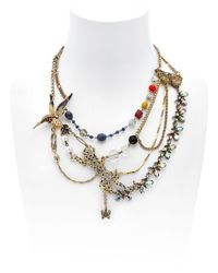 Maria Zureta | Multicolor Animal Leopard Necklace | Lyst