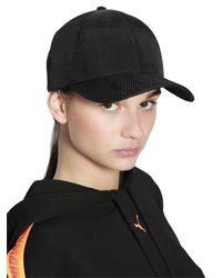 PUMA - Black Perforated Logo Mesh Baseball Hat - Lyst