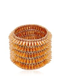 Philippe Audibert Pink Uma Cuff Bracelet