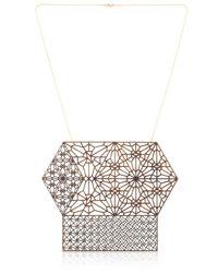 Lotocoho | Metallic Alhambra Combo Pendant Necklace I | Lyst