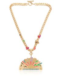 Maria Francesca Pepe | Metallic Holiday Exclusive Day Necklace | Lyst