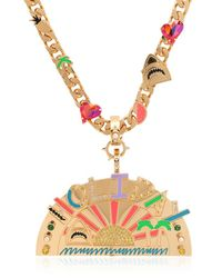 Maria Francesca Pepe - Metallic Holiday Exclusive Day Necklace - Lyst