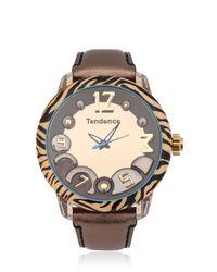 Tendence - Orange Animal 3h Tiger Watch - Lyst
