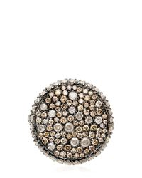 Roberto Marroni - Black Oxidized Ring - Lyst