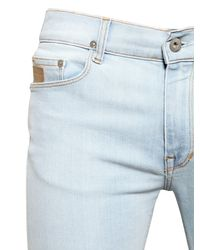 April77 - Blue 16cm Joey Bleached Stretch Denim Jeans - Lyst