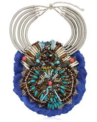 Anita Quansah London - Blue Llia Necklace - Lyst