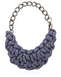 Alienina | Blue Odyssee Rope Necklace | Lyst