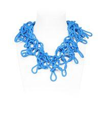 Alienina | Blue Odyssee Rubber Necklace | Lyst