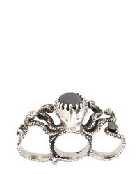 KD2024 - Metallic Octopus Ring - Lyst