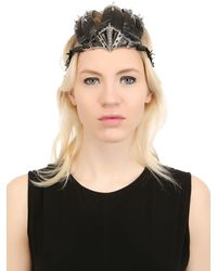 KD2024 - Black Equinox Headpiece for Men - Lyst