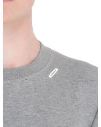 Nike - Gray White Label Cotton Blend Sweatshirt for Men - Lyst