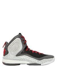 Adidas Originals | Gray Rose 5 Boost Basketball Sneakers for Men | Lyst