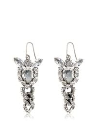 Emanuele Bicocchi | Metallic Swarovski Crystal Earrings | Lyst