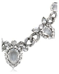 Emanuele Bicocchi | Metallic Swarovski Crystal Necklace | Lyst