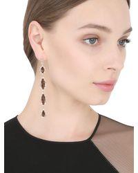 Suzanne Kalan - Metallic Diamond & Quartz Earrings - Lyst