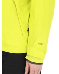 The North Face - Yellow Descendit Insulated Ski Jacket - Lyst