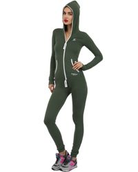 OnePiece - Green Aviator Jumpsuit - Lyst